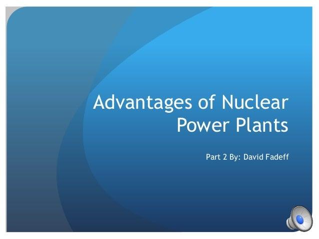 advantages of nuclear power plants pdf