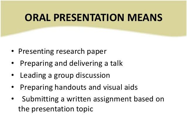 Final, sorry, Good oral presentation topics think
