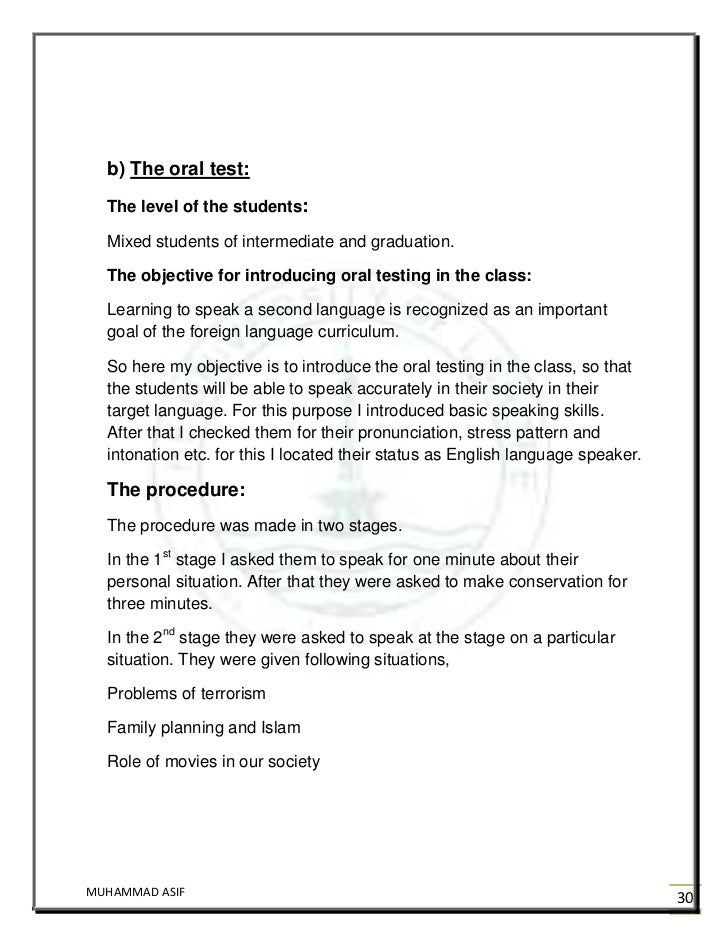 Oral English: 5 Tips for the Speaking Test