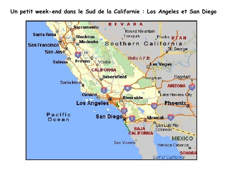 Un petit week-end dans le Sud de la Californie : Los Angeles et San Diego