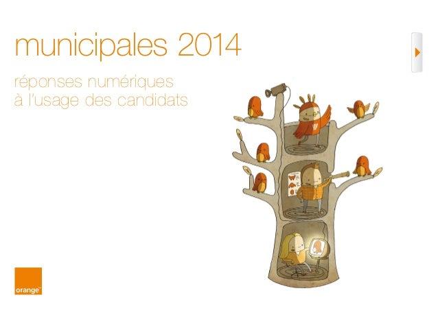municipales 2014 réponses numériques à l'usage des candidats