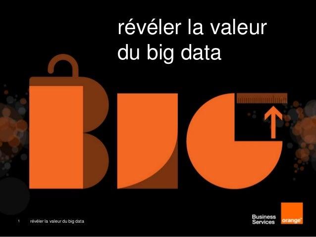 révéler la valeur du Big data