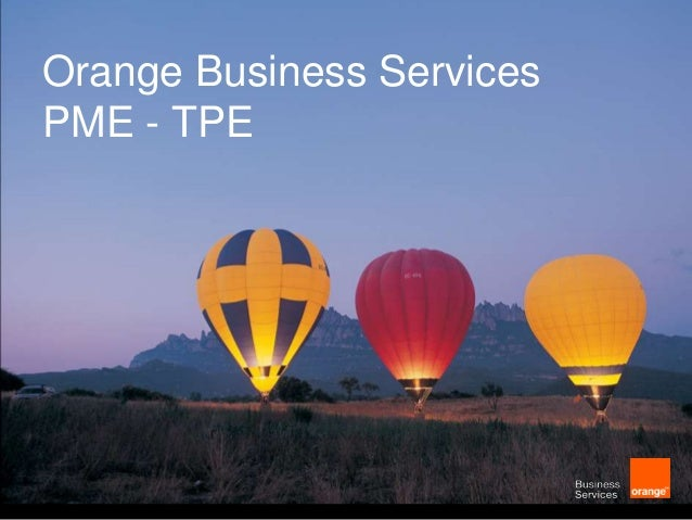Orange Business Services PME - TPE