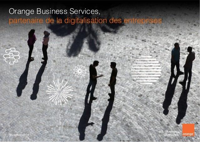 Orange Business Services présentation corporate