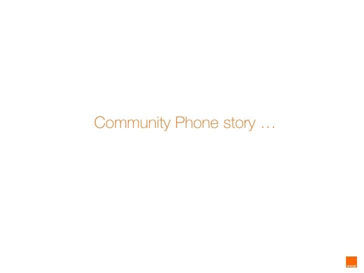 Orange Community Phone