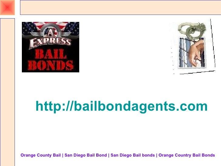 Orange Country Bail Presentation