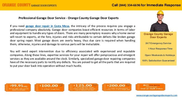 professional garage door service orange county garage door experts. Black Bedroom Furniture Sets. Home Design Ideas