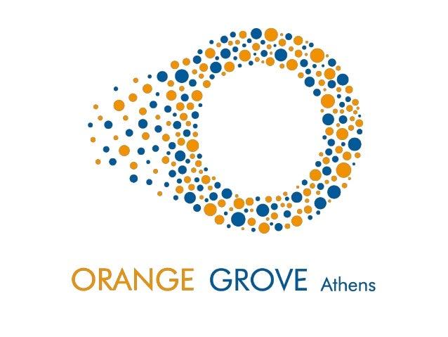 Orange Grove at Open Coffee Athens LVIII