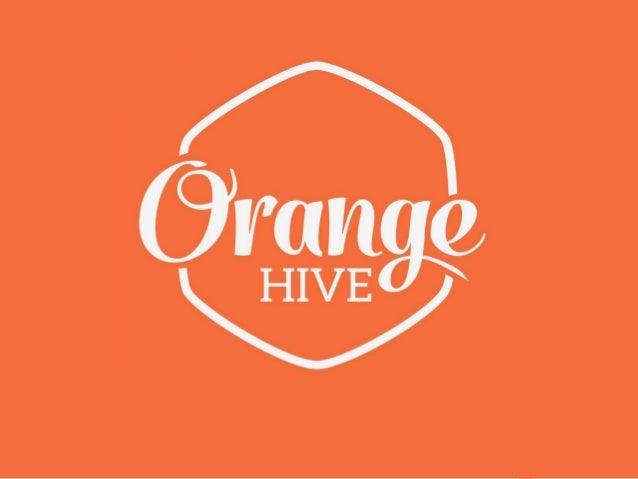 Orange Hive, Startup+Design community