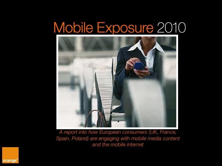 Orange Mobile Exposure 2010