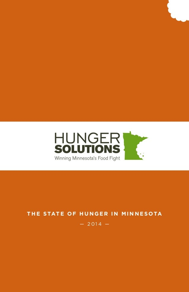 The State of Hunger in Minnesota 2014