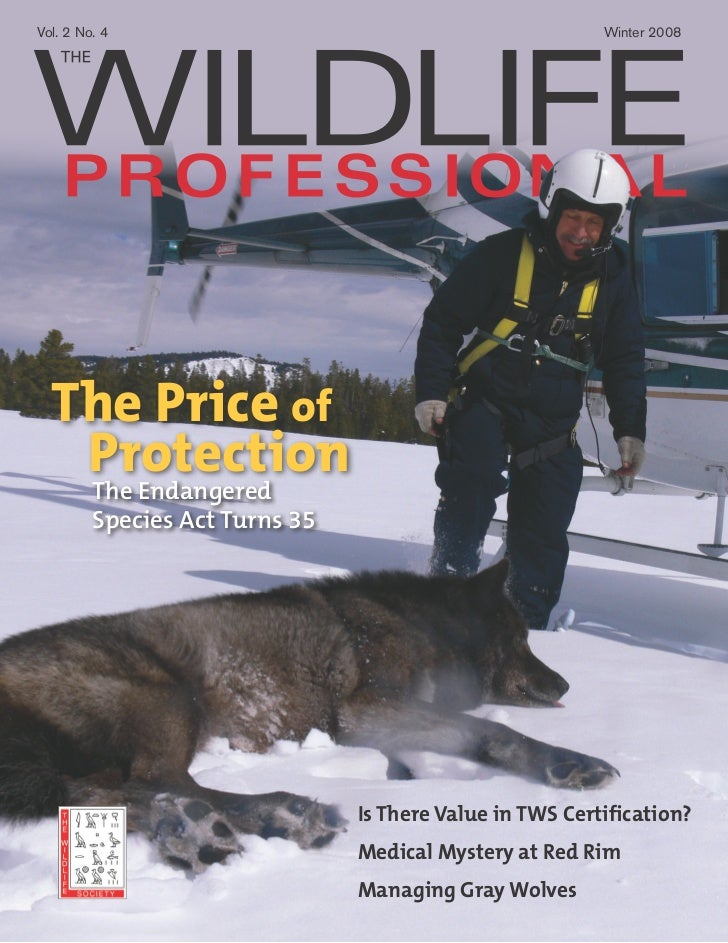 Vol. 2 No. 4                                              Winter 2008  The Price of   Protection         The Endangered   ...