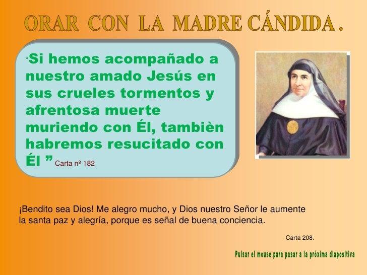 Orar Con La Madre CáNdida  Pascua09