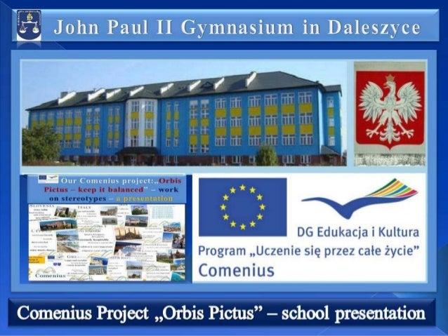 Our school presentation