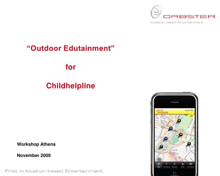 Orbster Outdoor Edutainment