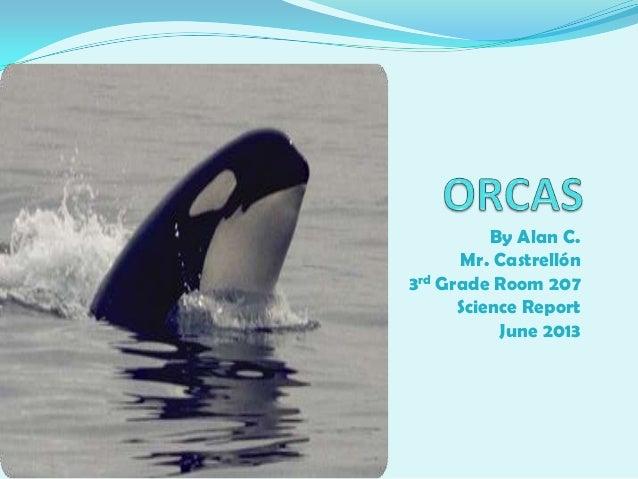By Alan C.Mr. Castrellón3rd Grade Room 207Science ReportJune 2013