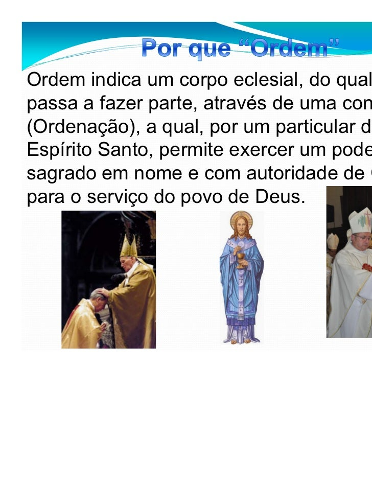 Sacramento Do Matrimonio Catolico : Ordem e matrimonio
