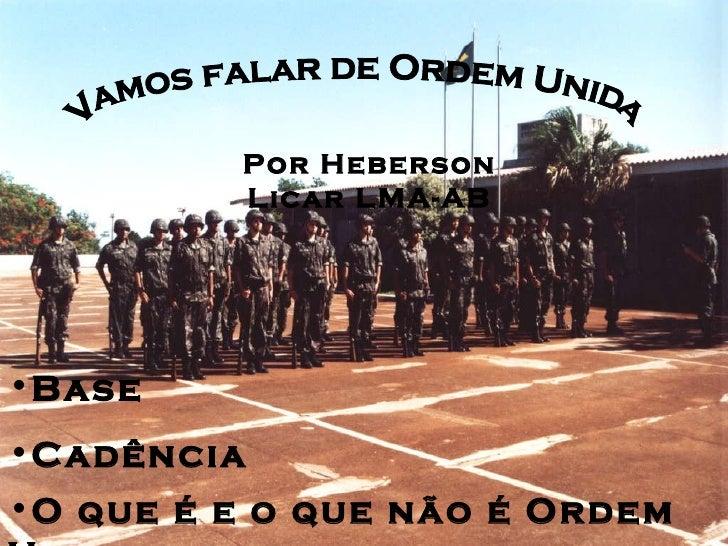 Ordem Unida