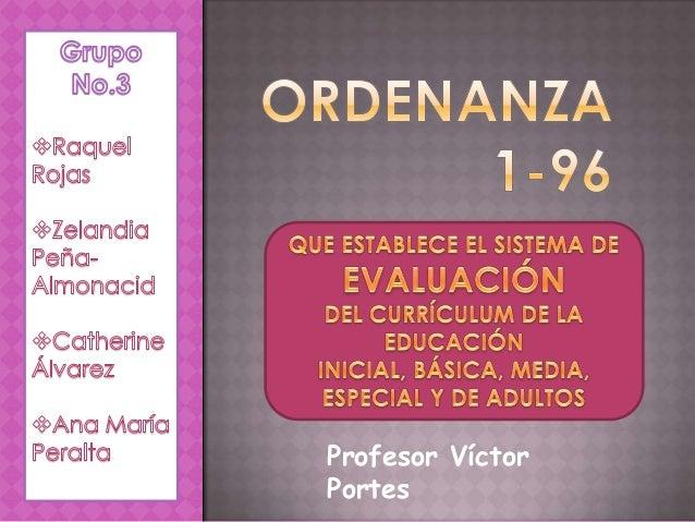 Ordenanza 1 96 Educación República Dominicana