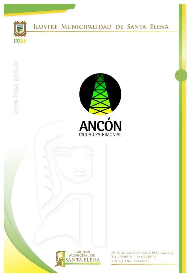 Ordenanza de San José de Ancón aprobada y entregada