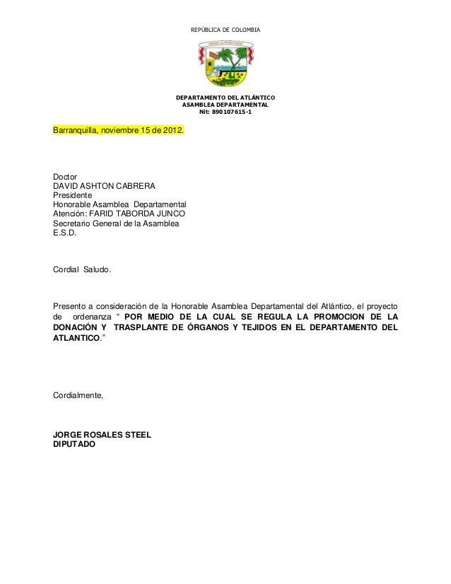 REPÚBLICA DE COLOMBIA                                DEPARTAMENTO DEL ATLÁNTICO                                  ASAMBLEA ...