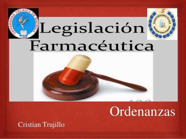 Ordenanzas Cristian Trujillo