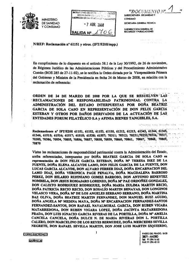"""BGCEI'ZSETEZI'*1'Ï""Ü  .4.. ."" SUBSECREÏÁRIÁ DE SÁNIDÁÜ Ï CONSUMO  SECREIARIA GENERAL TECNICA  MINISTERIO DE SANIDAD Y CON..."