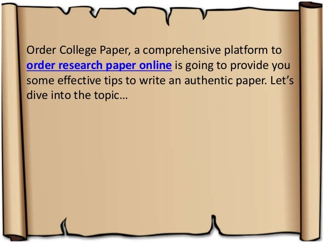 10 Tips for Writing the Perfect Paper