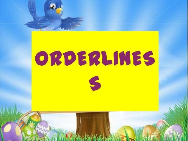 ORDERLINES S