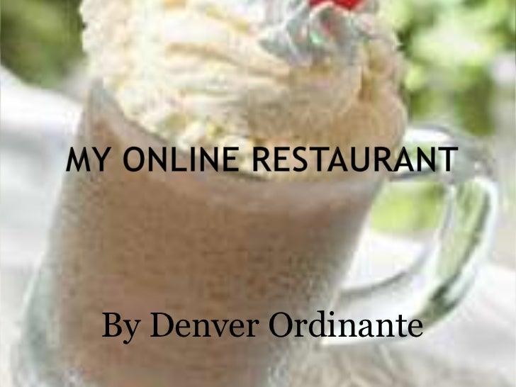 By Denver Ordinante