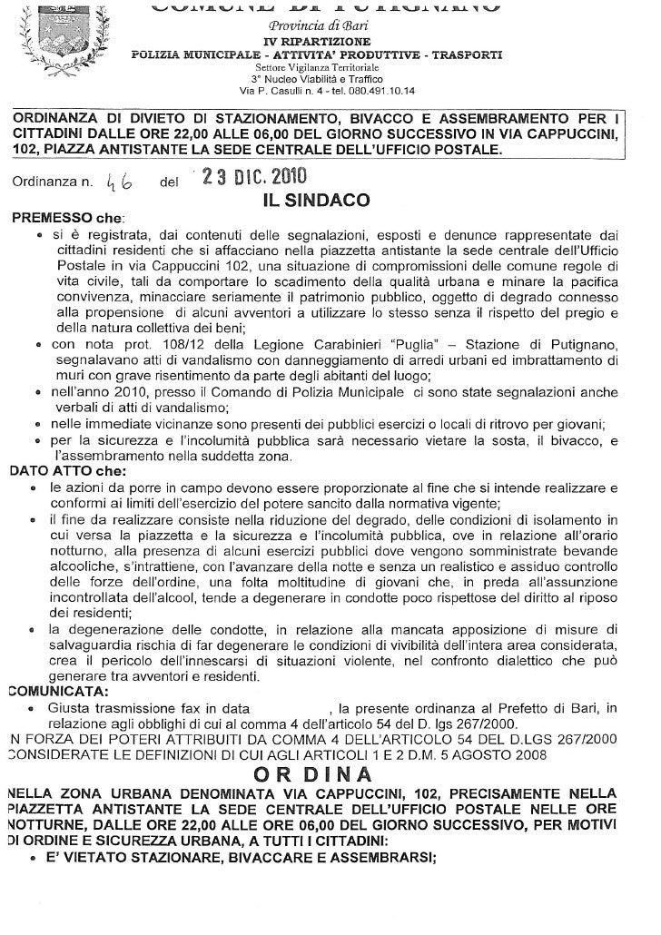 Ordinanza sindacale-46-2010
