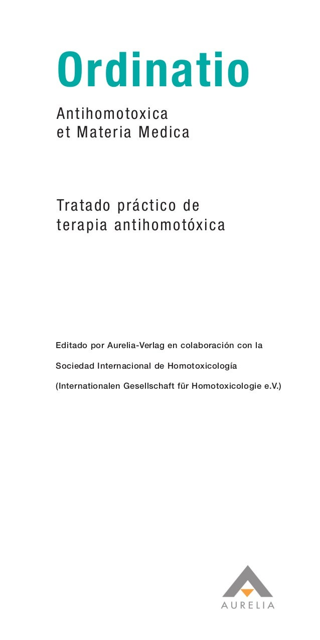 01 2.CONTENIDO    20/12/06   09:43   Página 1                 Ordinatio                 Antihomotoxica                 et ...