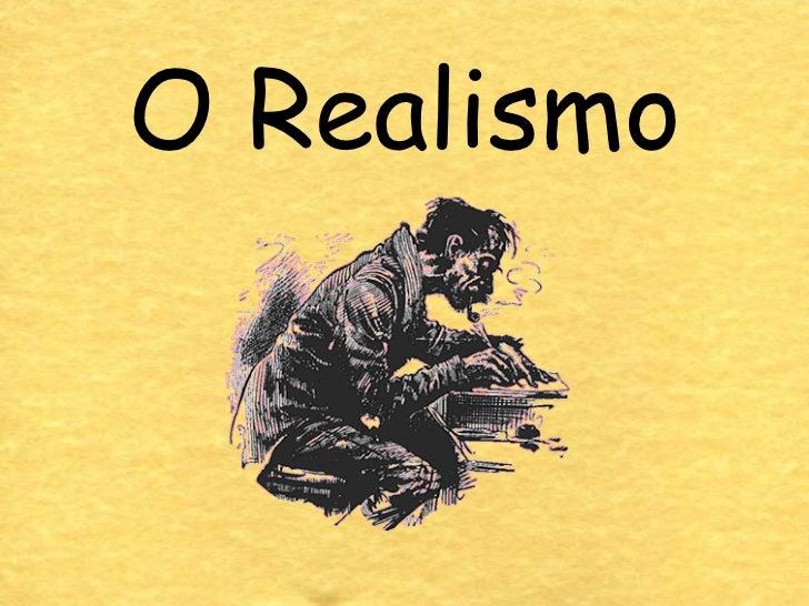 O Realismo E O Simbolismo
