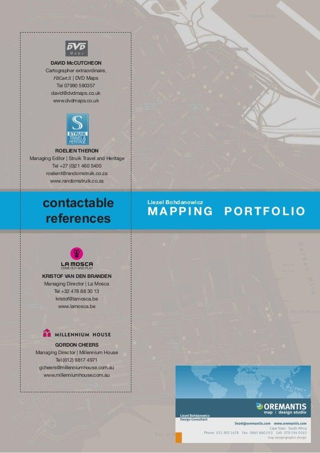 Oremantis map & design studio