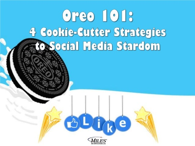 Oreo, you sweet, delicious, daring little cookie. You bravely tested creative social media waters – turning a Super Bowl b...