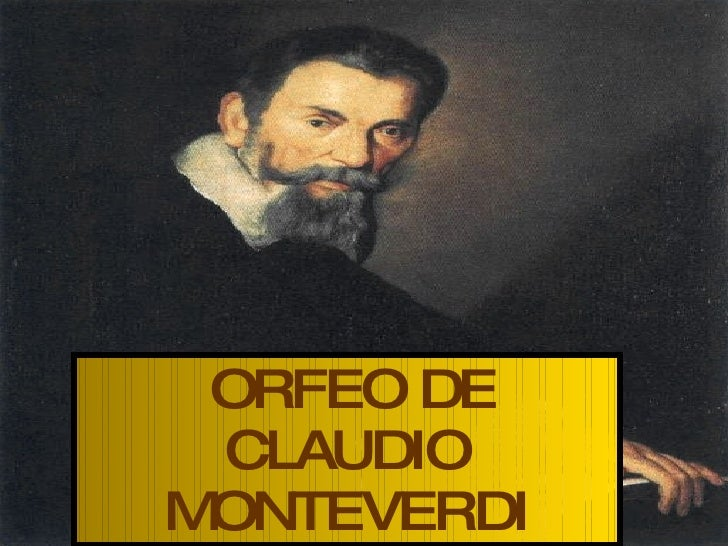 ORFEO DE CLAUDIO MONTEVERDI