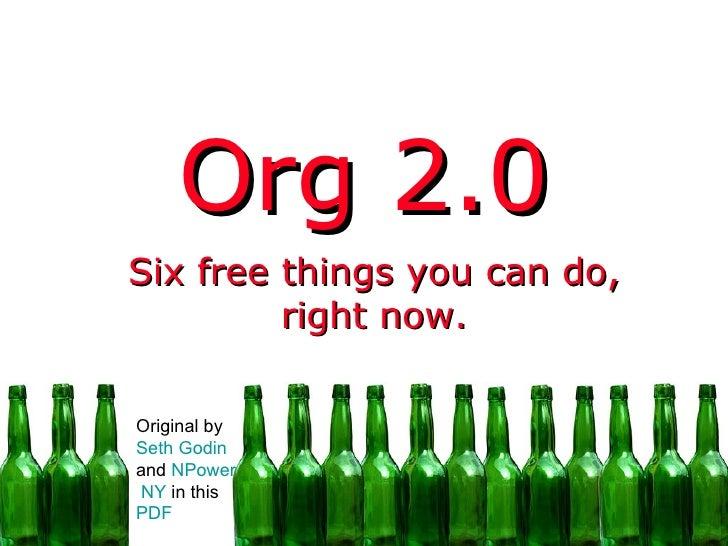 Org 2.0 English - slide show