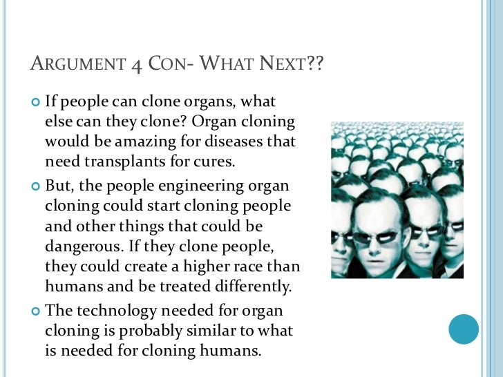 the cloning debate essay