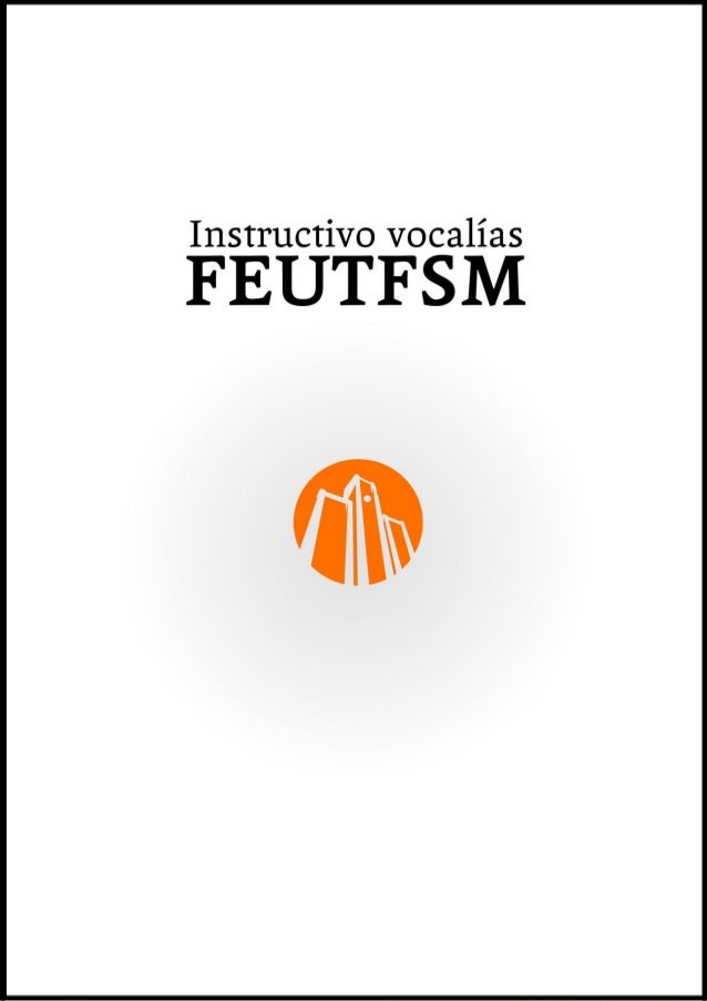 Instructivo de las Vocalías Las vocalías son espacios abiertos y dispuestos para la participación de toda la comunidad de ...