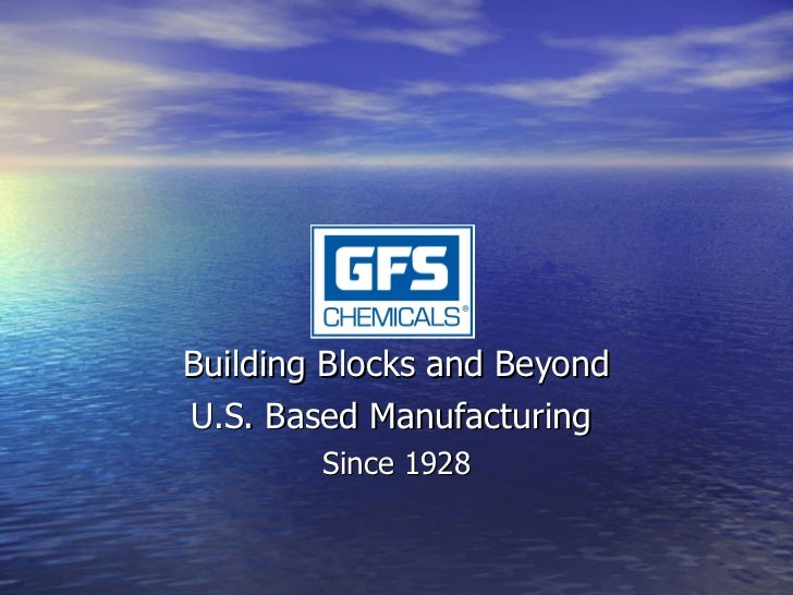 Building Blocks and Beyond U.S. Based Manufacturing  Since 1928