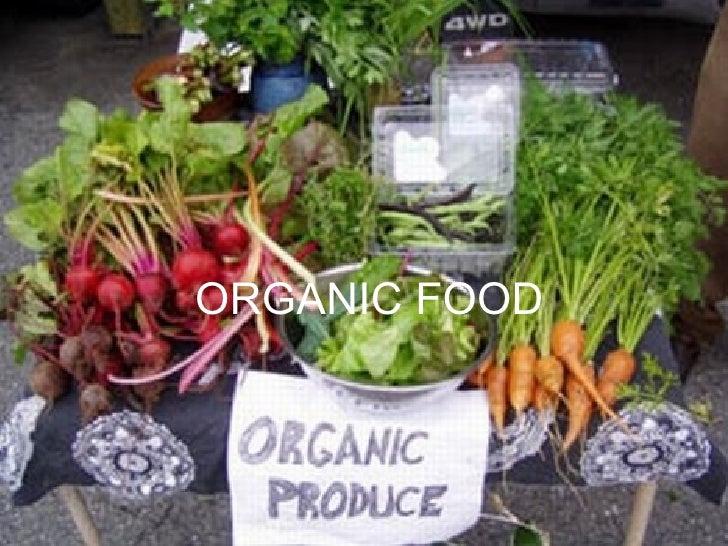 Organic food nereag