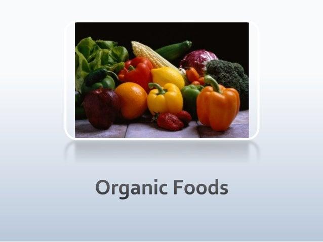 Organic food ppt
