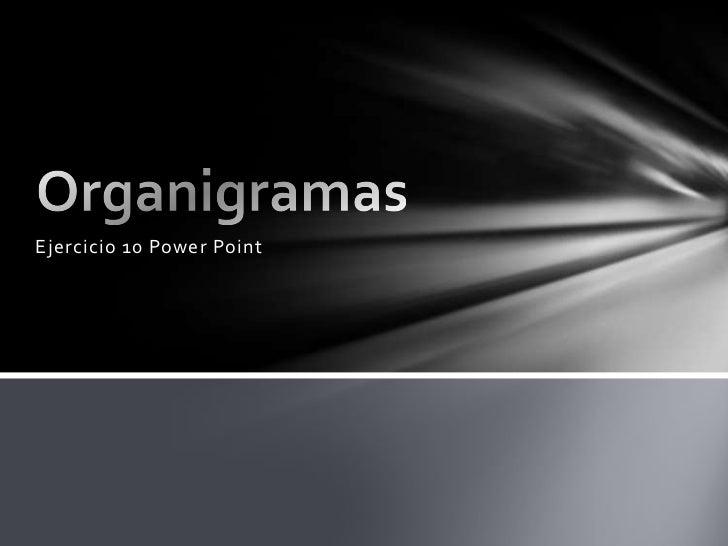 Ejercicio 10 Power Point