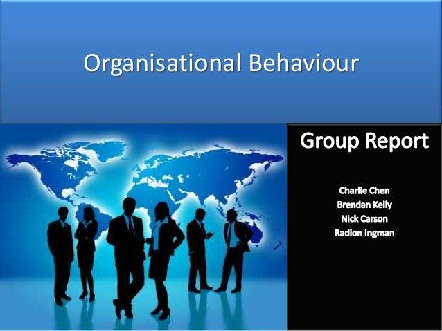 Organizational Behavior Assignments