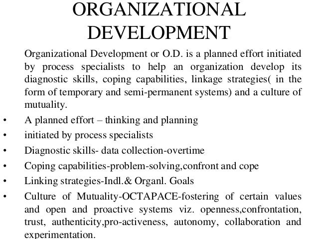 french and bell 1990 organisation development To help us identify which combination of the belbin team roles a using belbin throughout your organisation will the nine belbin team roles belbin have.