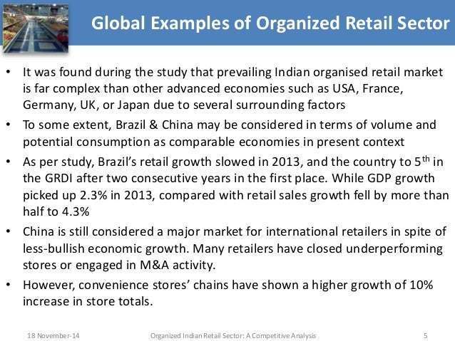 Global Retailers Examples Global Examples of Organized