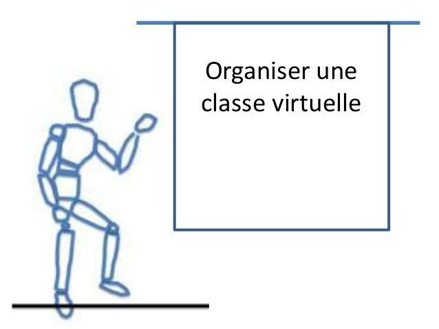 Organiser une classe virtuelle