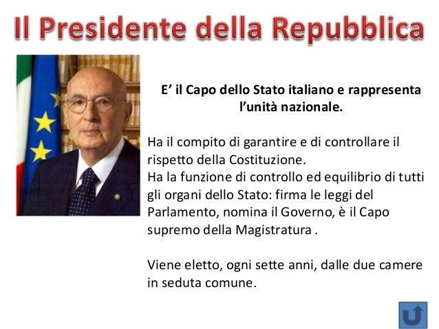 organi stato italiano