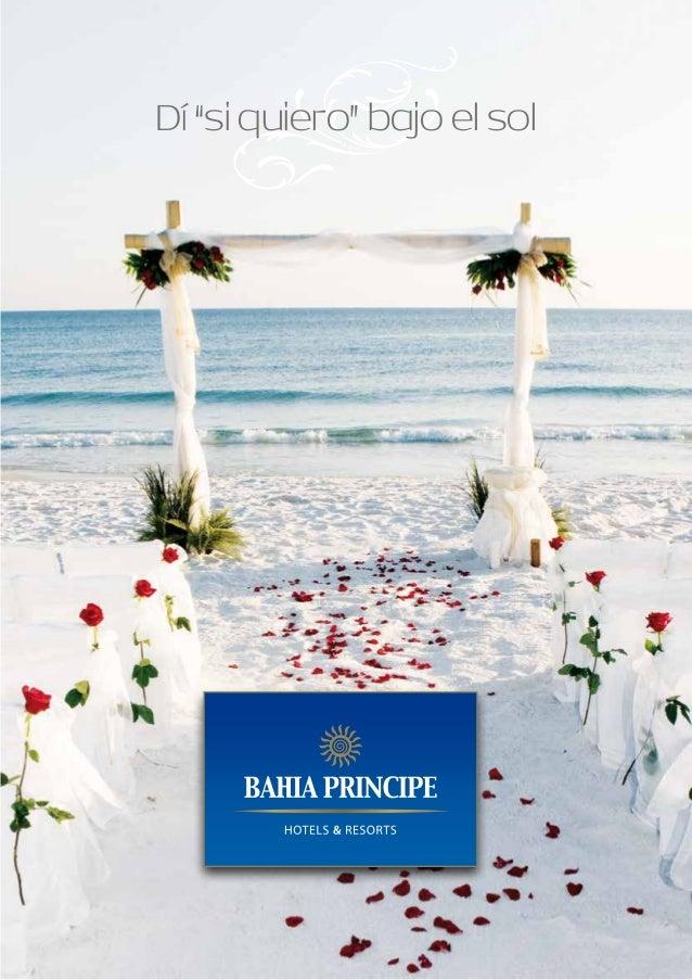 Organiza tu boda o luna de miel con Bahia Principe