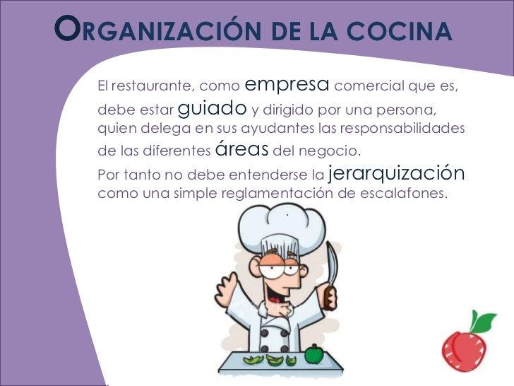 organizaci n On organizacion de una cocina profesional pdf